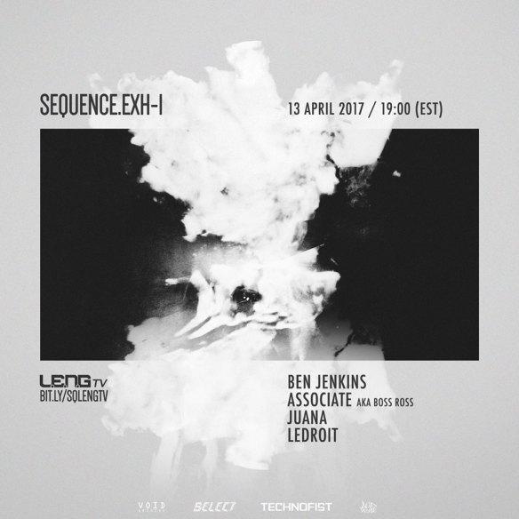 SEQUENCE.ExH-1 with Ben Jenkins, Associate aka Boss Ross, Juana & LeDroit - Live Stream on L.E.N.G. TV