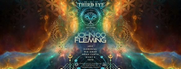 Third Eye Warehouse Party with John 00 Fleming, 2Rip, Elemental, Mir Omar, Noah Curtis, Ricky S & Tavo at Secret Location
