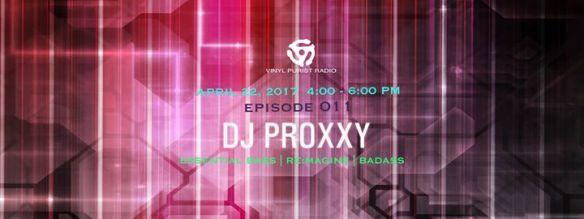 VPR Episode 011 with DJ Proxxy on Vinyl Purist Radio