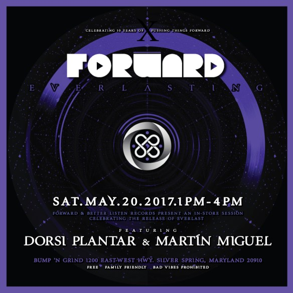 Forward and Better Listen Records Present: BLR 004 - Everlast with Dorsi Planer & Martín Miguel at Bump'n'Grind