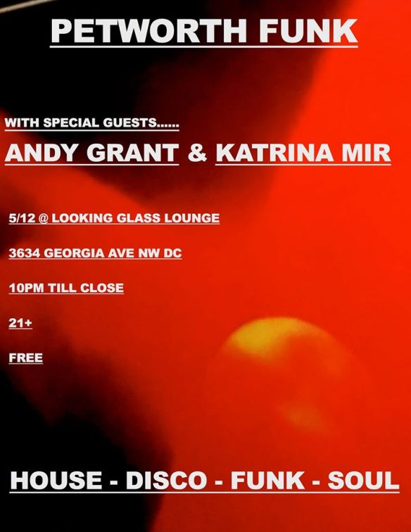 Petworth Funk with Andy Grant, Katrina Mir & Trev-ski at The Looking Glass Lounge