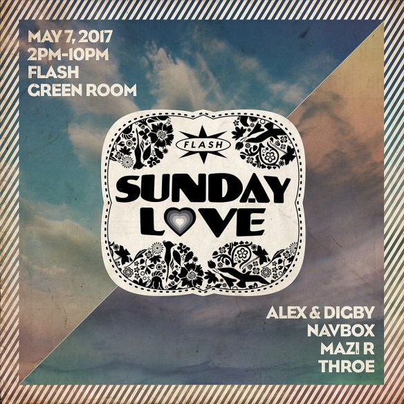 Sunday Love: Alex & Digby (Hello?Repeat), Navbox & Throe at Flash
