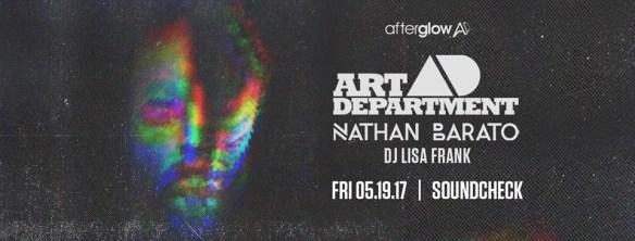 Art Department, Nathan Barato & DJ Lisa Frank at Soundcheck