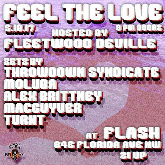Feel The Love Live at Flash
