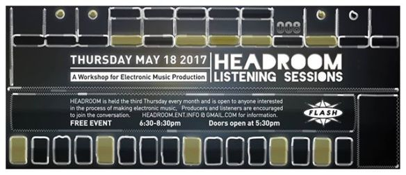 Headroom Listening Sessions at Flash