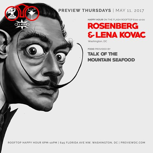 Preview Rooftop Happy Hour ft. Rosenberg & Lena Kovac at Flash