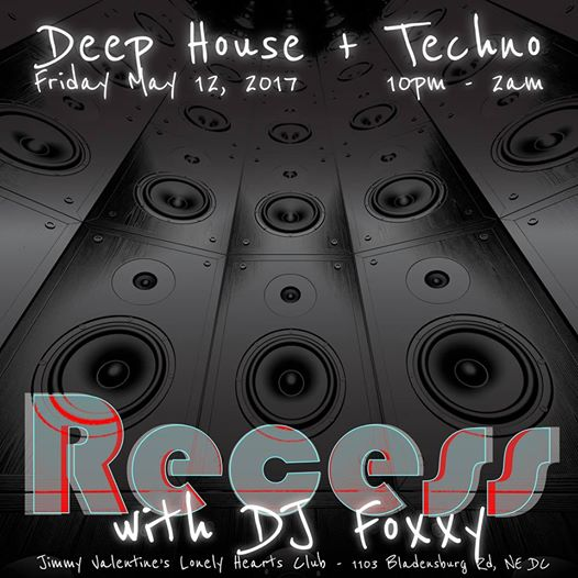 Recess with DJ Foxxy at Jimmy Valentine's Lonely Hearts Club