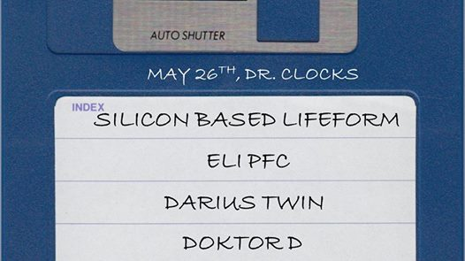 Silicon Based Lifeform with Eli PFC, Darius Twin & Doktor D at Dr Clock's Nowhere Bar