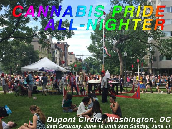Cannabis Pride All-Nighter in Dupont Circle