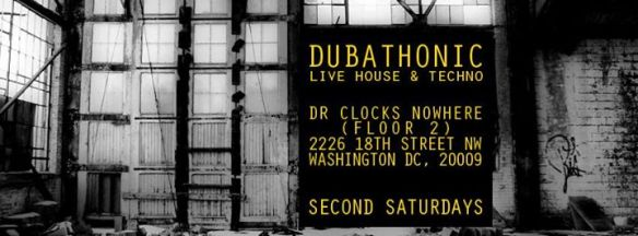 Live House with Dubathonic at Dr Clock's Nowhere Bar