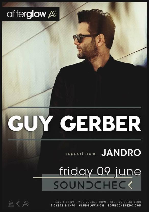 Guy Gerber with Jandro at Soundcheck