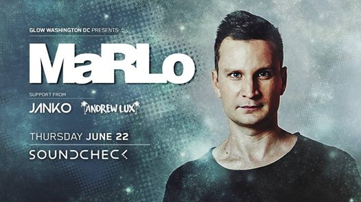 MaRLo with Janko and Andrew Lux at Soundcheck