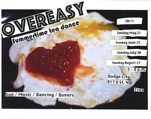 Overeasy Tea Dance with Jacq Jill, Tommy Cornelis & Vanniety Kills at Dodge City