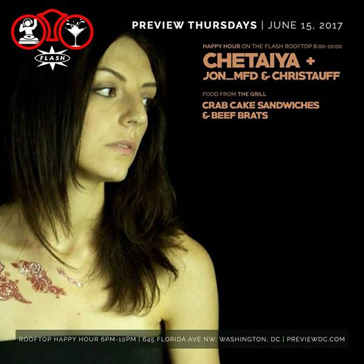 Preview Happy Hour featuring Chetaiya & The Residents at Flash