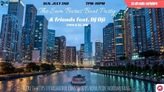 The Sam Burns Boat Party & friends feat. Dj Oji