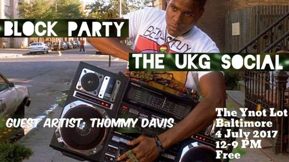 The UKG Social Block Party with Tommy Davis at The Ynot Lot