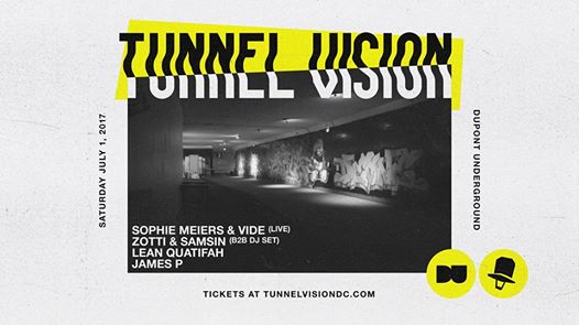 Tunnel Vision DC with Sophie Meiers & Vide, Zotti & Samsin, Lean Quatifah and James P at Dupont UndergroundTunnel Vision DC with Sophie Meiers & Vide, Zotti & Samsin, Lean Quatifah and James P at Dupont Underground