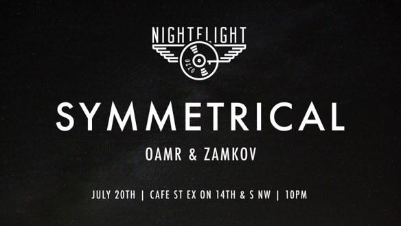 Nightflight with Symmetrical at Cafe Saint Ex