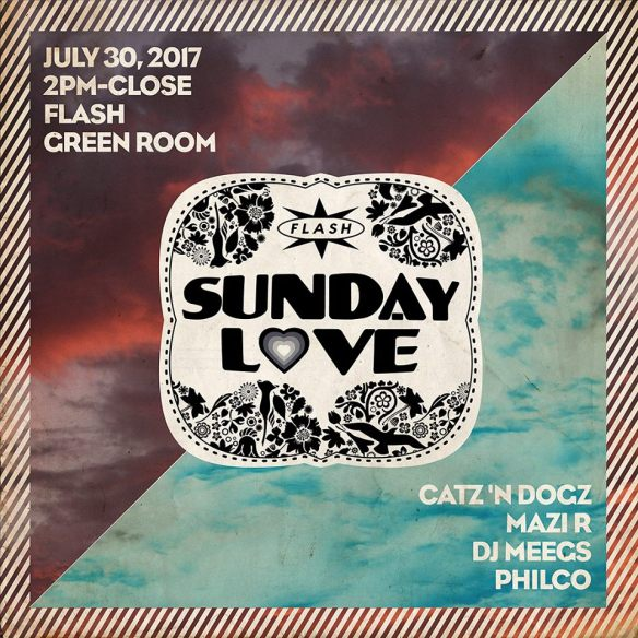 Sunday Love: Catz 'N Dogz with Mazi R, DJ Meets & Philco at Flash