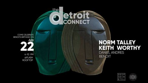 The Detroit Connect with Norm Talley, Keith Worthy, Daniel Andres & Benoit at Flash