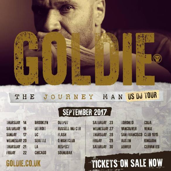 goldie tour