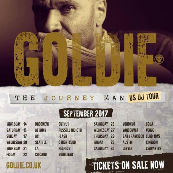 goldie tour