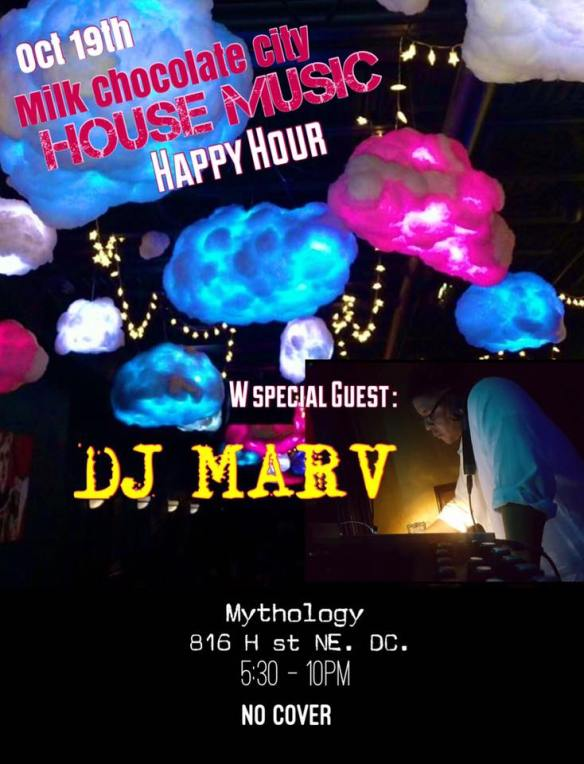 House Music Happy Hour with DJ Marc at Mythology Restaurant & Lounge
