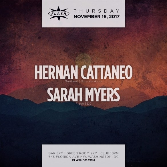 Hernan Cattaneo with Sarah Myers at Flash
