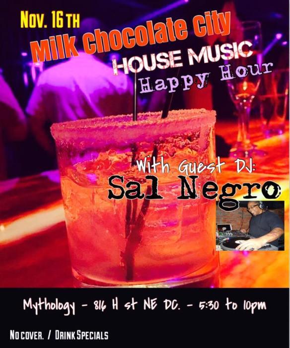 House Music Happy Hour with Sal Negro at Mythology Restaurant & Lounge
