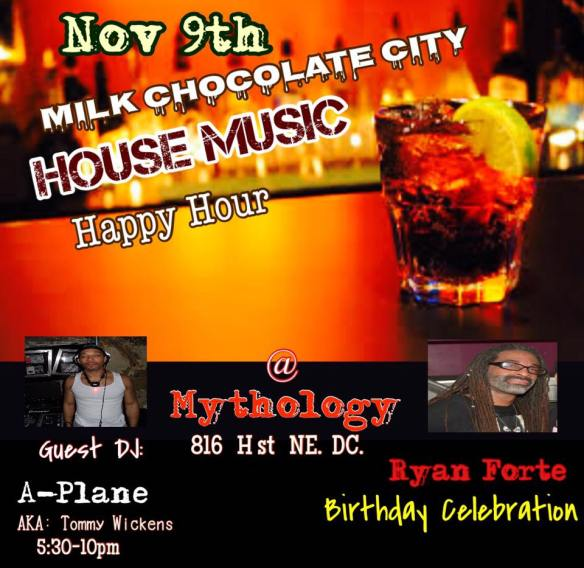 House Music Happy Hour with DJ A Plane at Mythology Restaurant & Lounge