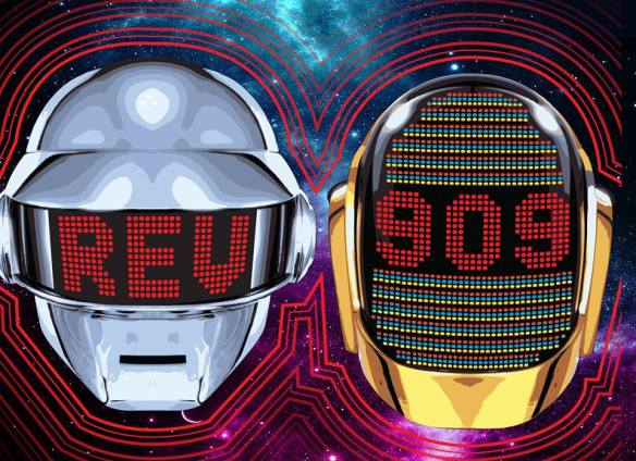 Rev909: Daft Punk French House Tribute and Indie Dance Classics with Will Eastman & Ozker at U Street Music Hall