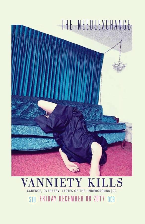 The NeedleXchange with Vanniety Kills, Bil Todd, Baronhawk & Tommy Cornelis at DC9 Nightclub