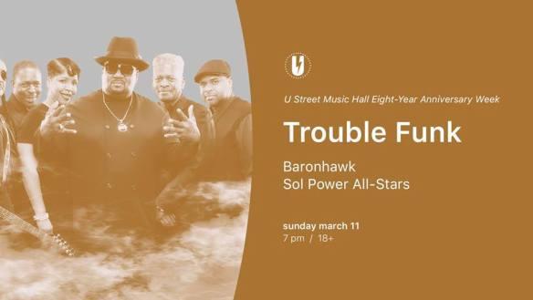 trouble funk u hall