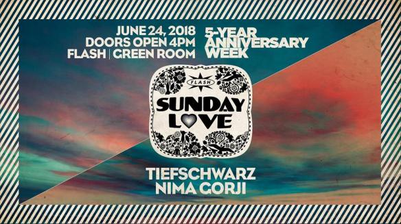 5 years of Flash sunday love tiefschwarz
