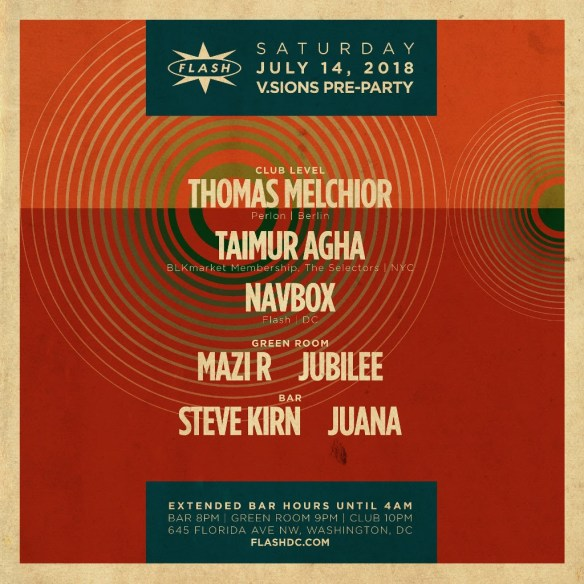 DC House Grooves Top Picks July 12 to July 15 | DC House Grooves