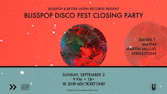 blisspop disco fest closing