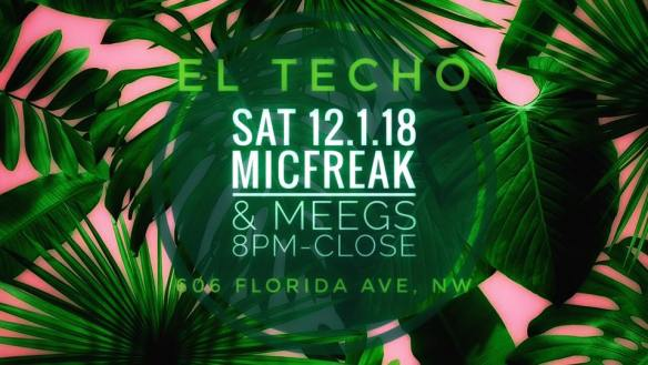 micfreak and meegs at el techo