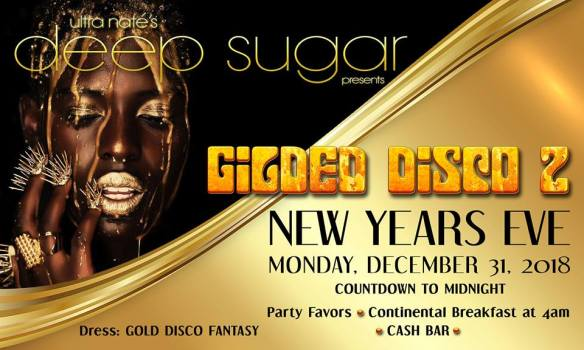 Deep Sugar Gilded Disco 2 New Year's Eve