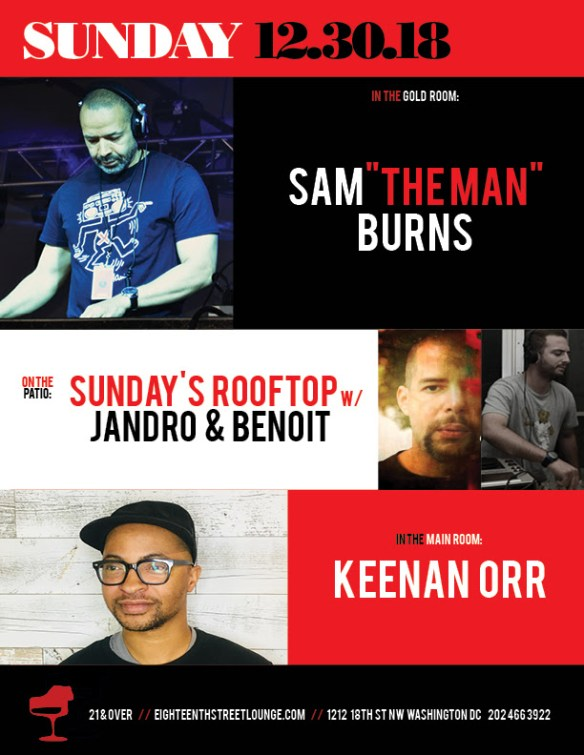 ESL Sunday with Sam Burns and Sundays Rooftop with Benoit & Jandro