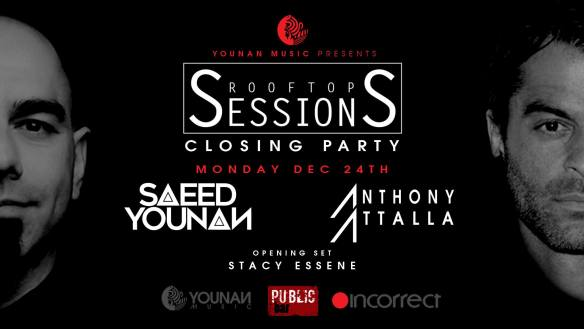 Rooftop Sessions Closing Party with Saeed Younan and Anthony Attalla