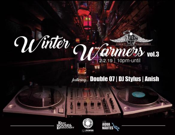 Winter Warmers at Jimmys