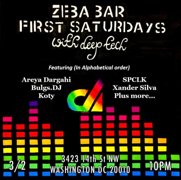 Deep Tech at Zeba Bar
