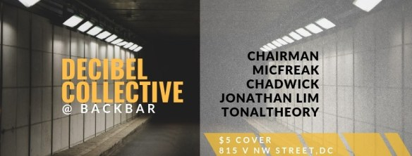 Decibel Collective at Backbar