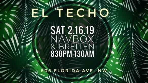 Navbox & Breiten at El Techo