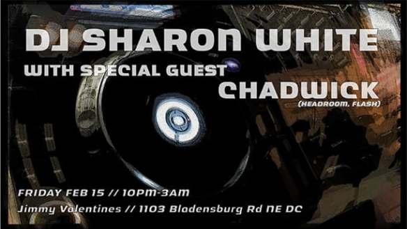 DJ Sharon White Chadwick at Jimmys