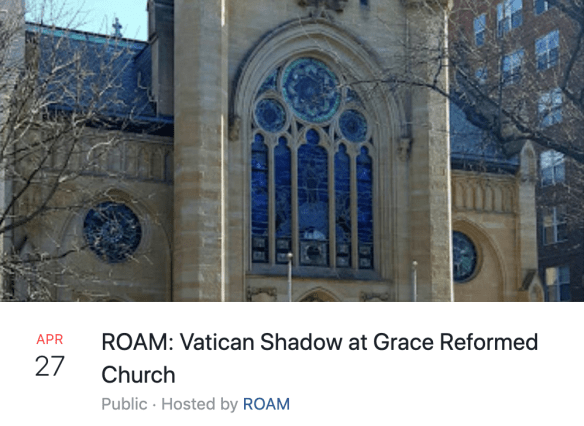 ROAM Vatican Shadow