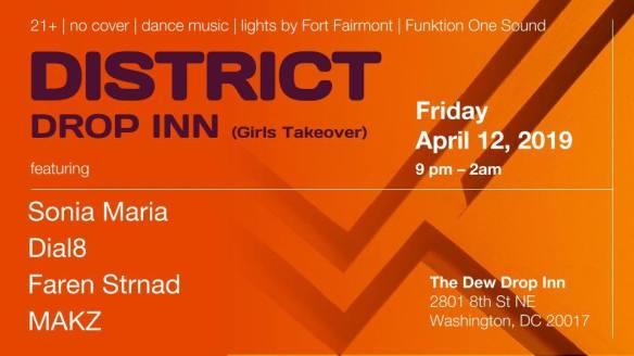 district drop inn girls takeover