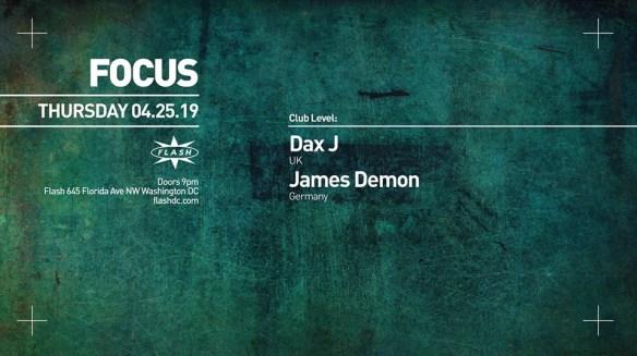 focus dax j