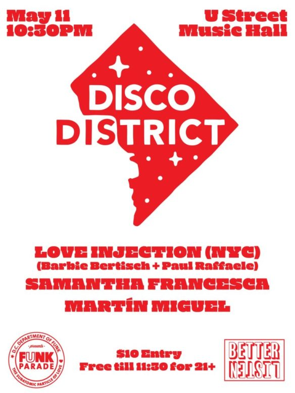 disco district funk parade edition