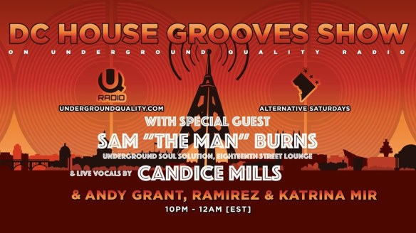 dc house grooves show sam burns candice mills